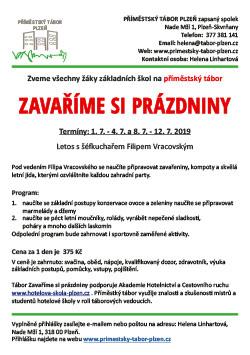Příměstský tábor Plzeň - kuchař