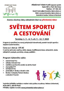 příměstský tábor Plzeˇ- sport